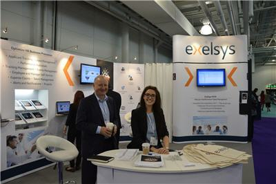 Exelsys stand HR Software Show 2015
